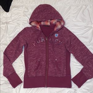 Women's medium  Hurley zipped hoodie